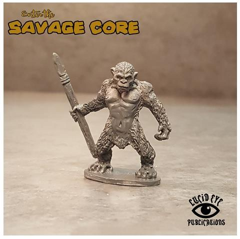 Savage Core: Simian Boss Thinking Brow