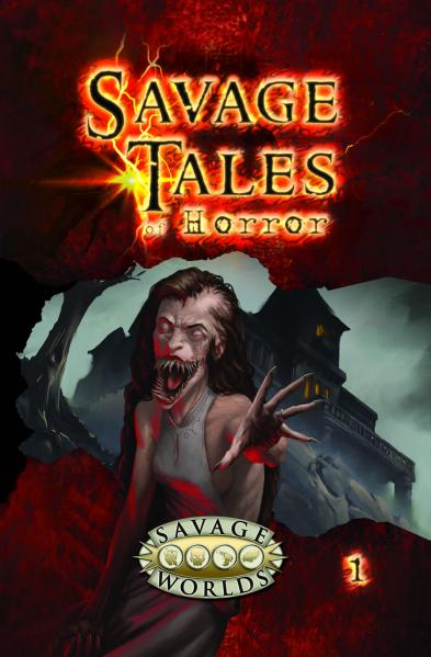 Savage Tales Of Horror: Volume 1 Limited Edition (HC)