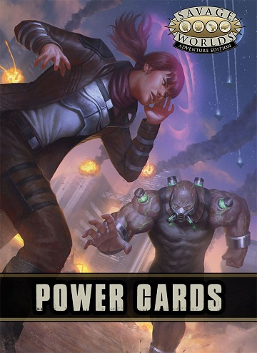 Savage Worlds: Adventure Edition - Power Cards