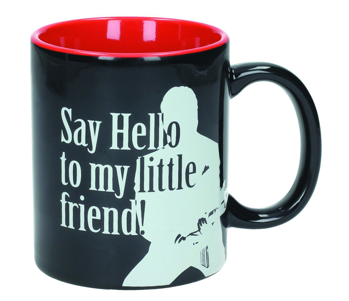 Scarface: Say Hello to my little friend! (Ceramic Mug)