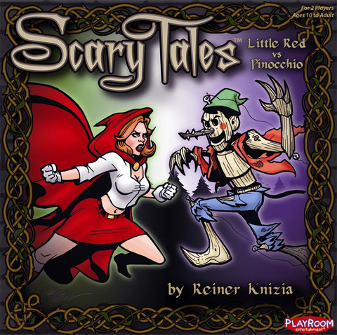 Scary Tales: Little Red vs Pinocchio