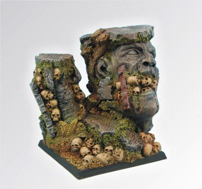 Scibor Monstrous Miniatures: Bases: Chaos Ground (50mm)