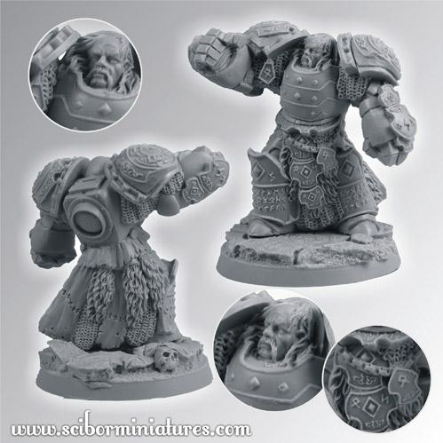 Scibor Monstrous Miniatures: Celtic SF Lord 2