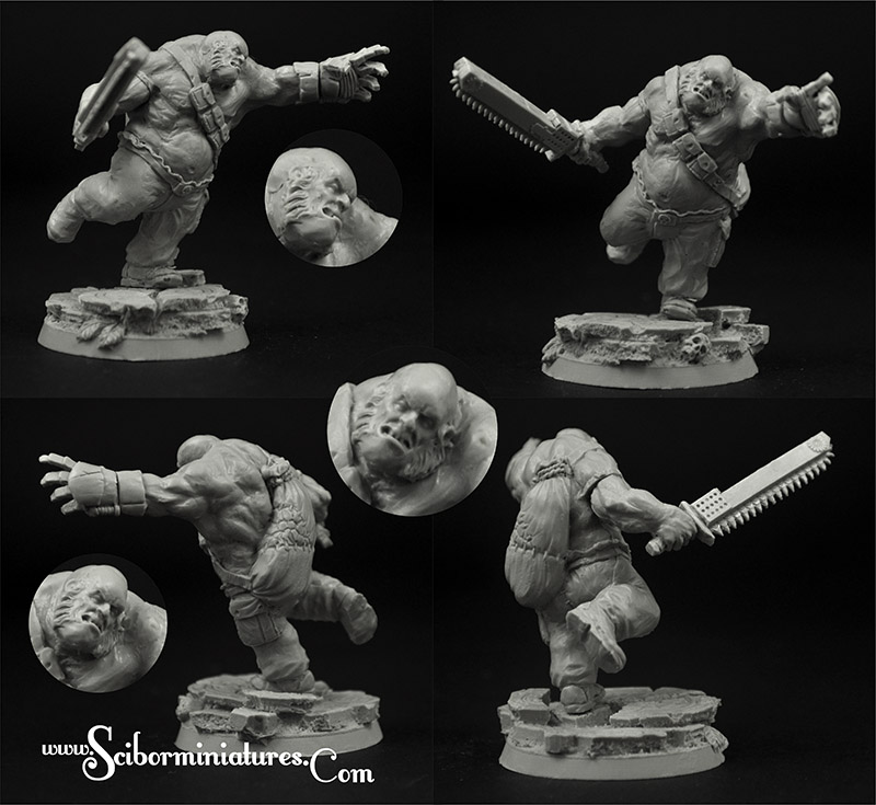 Scibor Monstrous Miniatures: Cossack Ogre #3