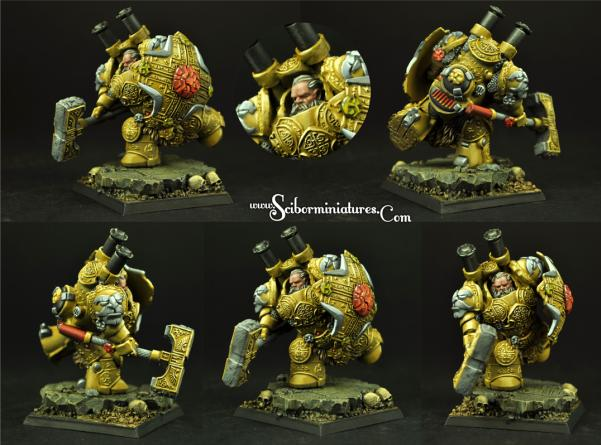 Scibor Monstrous Miniatures: Dwarf Steam Thunder #1