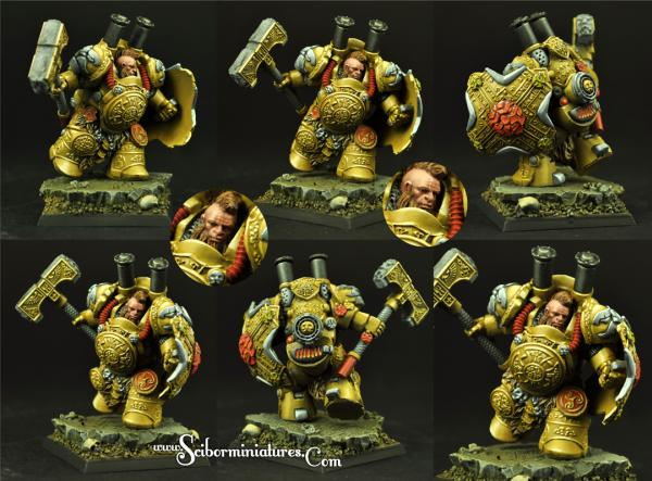 Scibor Monstrous Miniatures: Dwarf Steam Thunder #2
