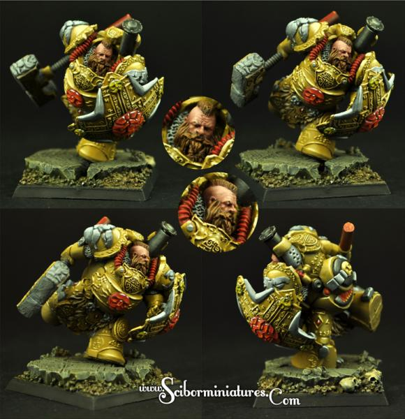 Scibor Monstrous Miniatures: Dwarf Steam Thunder #3