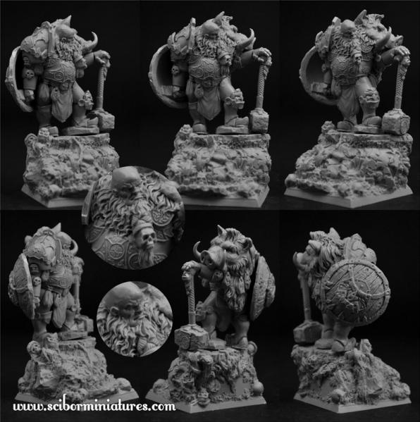 Scibor Monstrous Miniatures: Ogre Chief