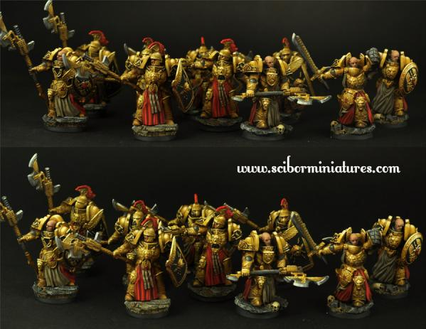 Scibor Monstrous Miniatures: SF Roman Legionary 10 Figures Set
