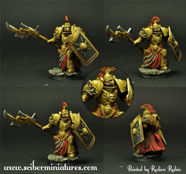 Scibor Monstrous Miniatures: SF Roman Legionary #5