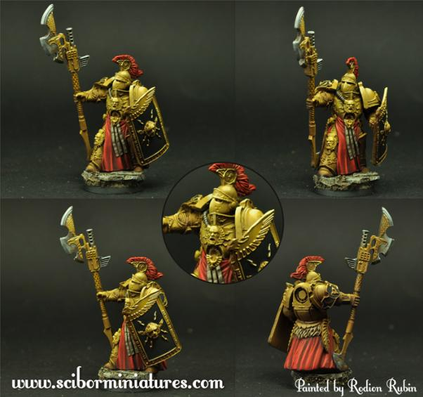 Scibor Monstrous Miniatures: SF Roman Legionary #6