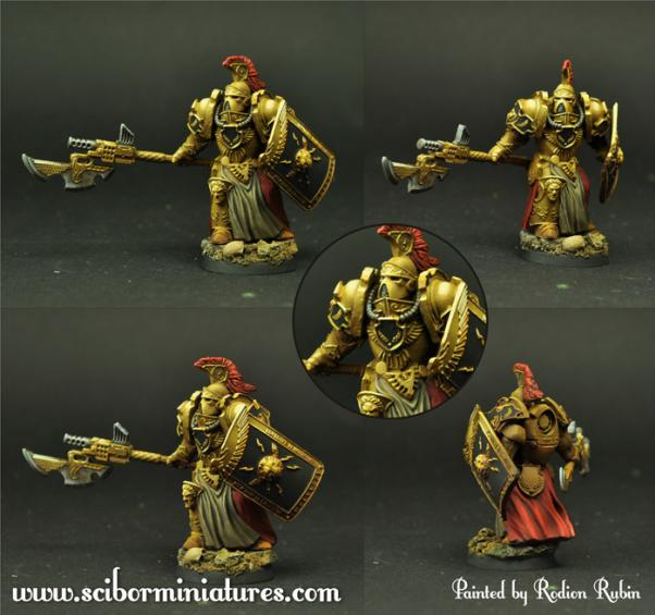 Scibor Monstrous Miniatures: SF Roman Legionary #8
