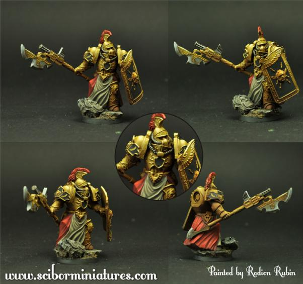 Scibor Monstrous Miniatures: SF Roman Legionary #9