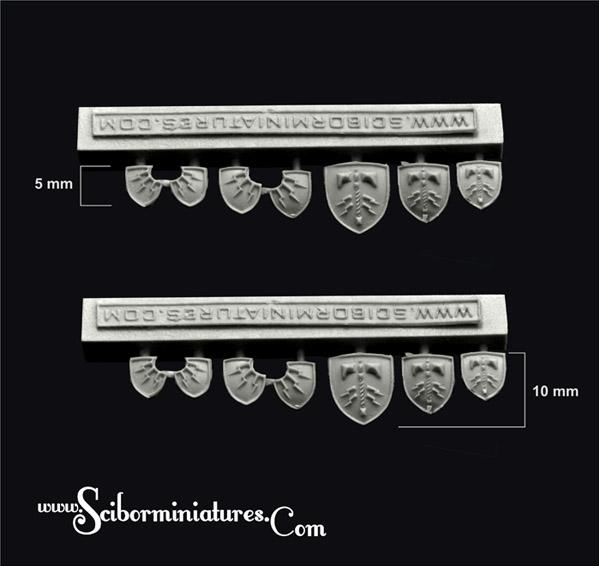 Scibor Monstrous Miniatures: Thor Small Shields
