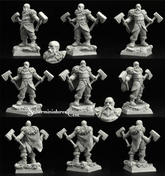Scibor Monstrous Miniatures: Viking #1