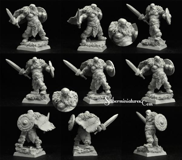 Scibor Monstrous Miniatures: Viking #2