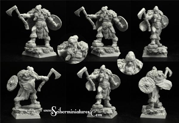 Scibor Monstrous Miniatures: Viking #3