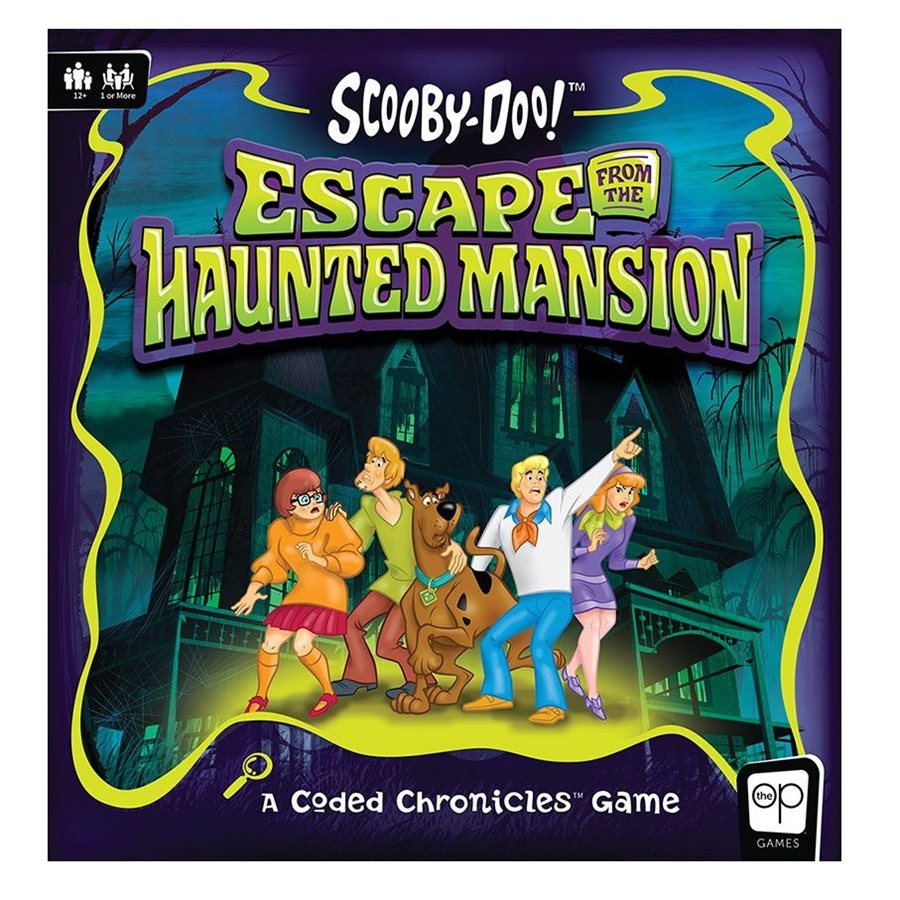 Scooby-Doo! Escape From The Haunted Mansion [DAMAGED]