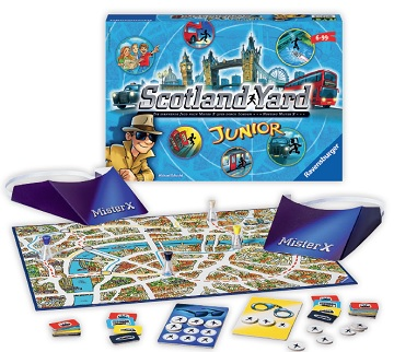 Scotland Yard Junior [Damaged]