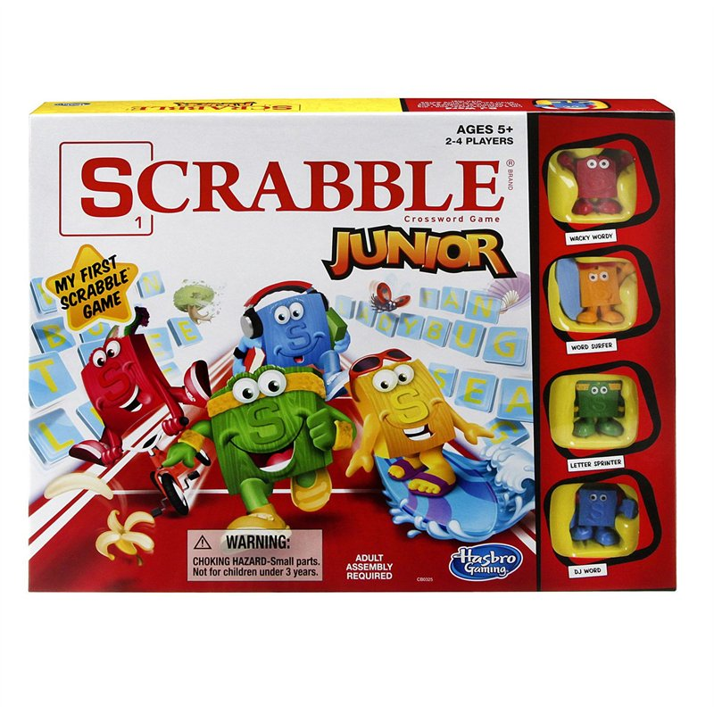 Scrabble Junior [Damaged]