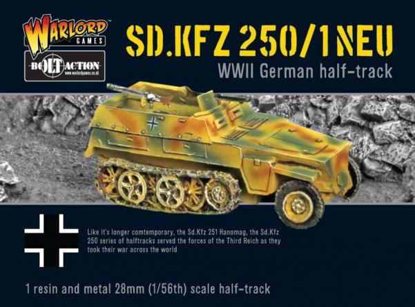 Bolt Action: German: Sdkfz 250/1 Neu Halftrack