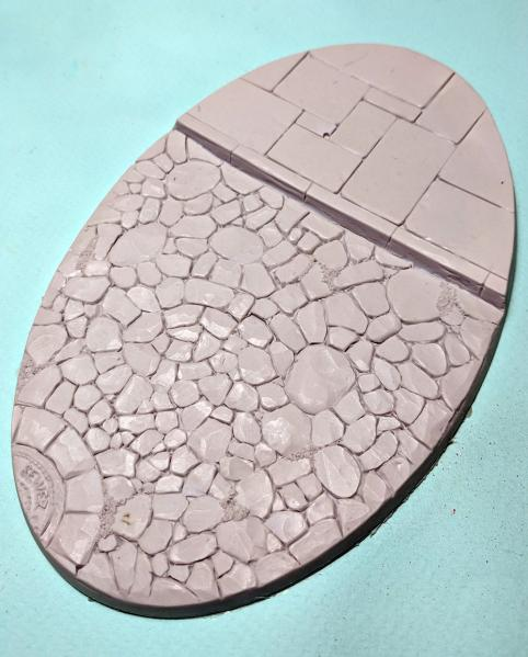 Secret Weapon Miniatures: Knight Base Town Square Beveled Edge