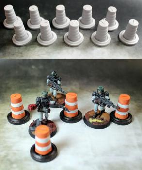 Secret Weapon Miniatures: Parking Pylons