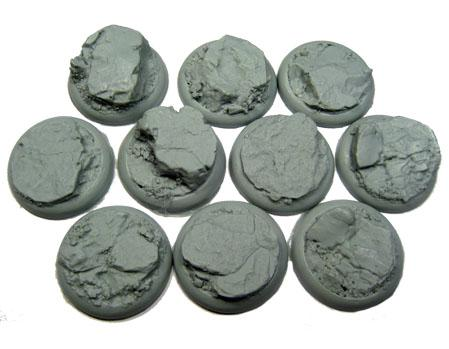 Secret Weapon Miniatures: Rocky Bluff: 30mm Round Lip