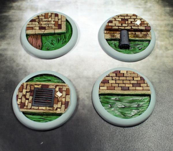 Secret Weapon Miniatures: Sewer Works: 40mm Round Lip