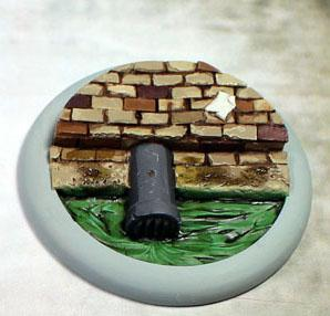 Secret Weapon Miniatures: Sewer Works: 50mm #01 Round Lip