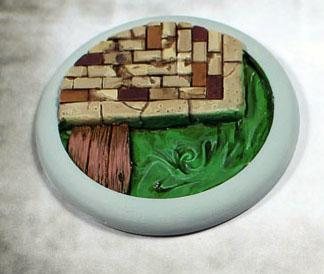 Secret Weapon Miniatures: Sewer Works: 50mm #02 Round Lip
