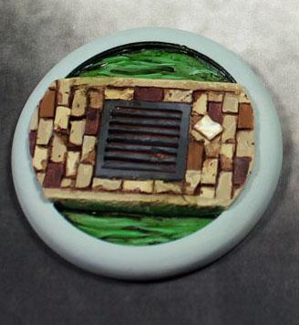 Secret Weapon Miniatures: Sewer Works: 50mm #03 Round Lip