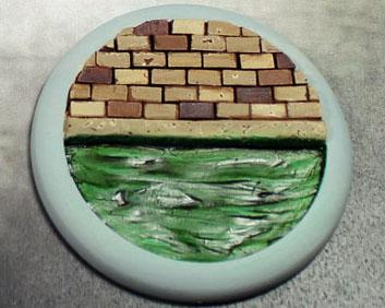 Secret Weapon Miniatures: Sewer Works: 50mm #04 Round Lip
