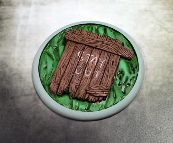 Secret Weapon Miniatures: Sewer Works: 80mm Round Lip