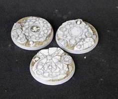 Secret Weapon Miniatures: Shattered Ritual: 50mm Beveled Edge
