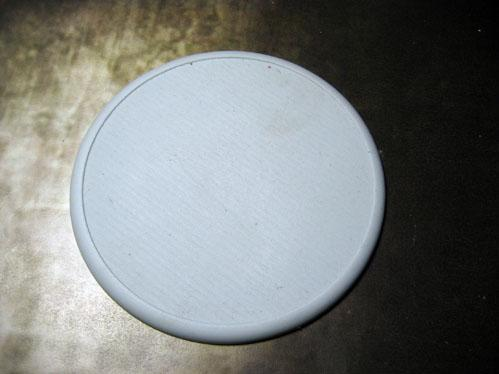 Secret Weapon Miniatures: Solid Blank 100mm Round Lip