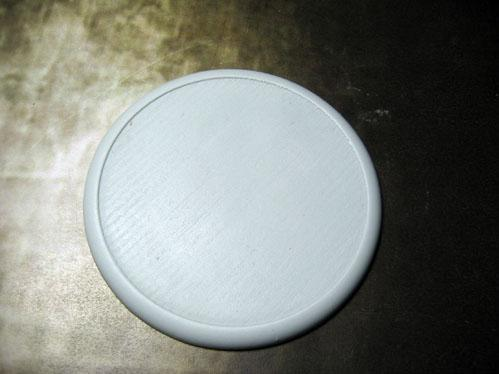 Secret Weapon Miniatures: Solid Blank 80mm Round Lip