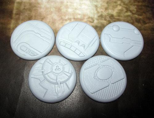 Secret Weapon Miniatures: Tau Ceti: 40mm Round Lip