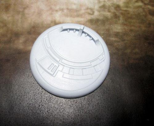 Secret Weapon Miniatures: Tau Ceti: 50mm #01 Round Lip