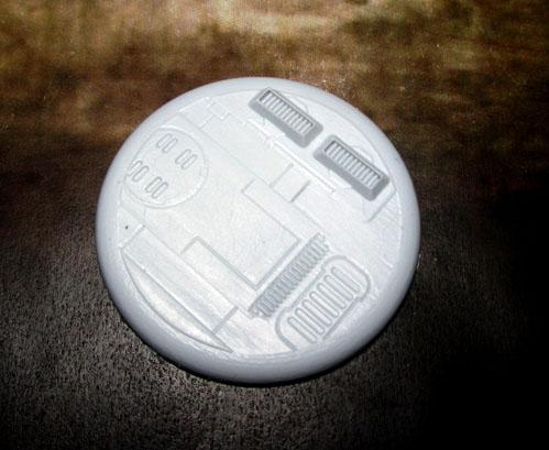 Secret Weapon Miniatures: Tau Ceti: 50mm #02 Round Lip