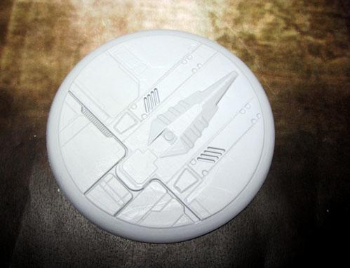 Secret Weapon Miniatures: Tau Ceti: 80mm Round Lip
