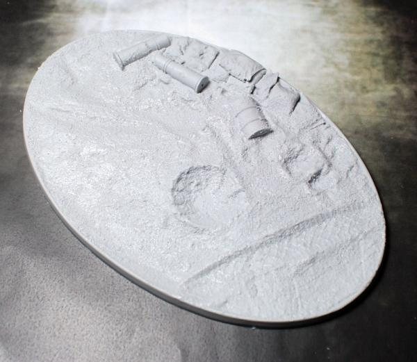 Secret Weapon Miniatures: Trench Works: 168x106mm Beveled Edge