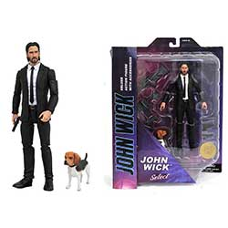 "Selects John Wick with Dog 7"" Figure"