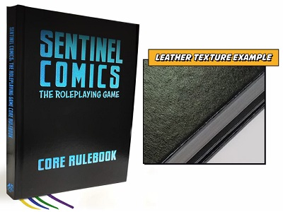 Sentinel Comics: The RPG Core Rulebook (Special Ed.)