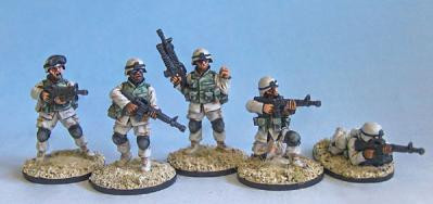 Black Scorpion Miniatures: US Marines: Set 3