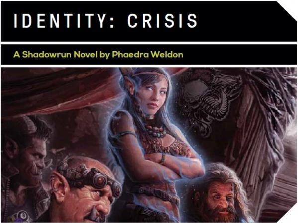 Shadowrun Novel: Identity Crisis