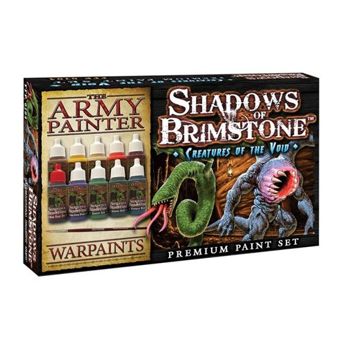 Shadows of Brimstone: Creatures Of The Void Paint Set
