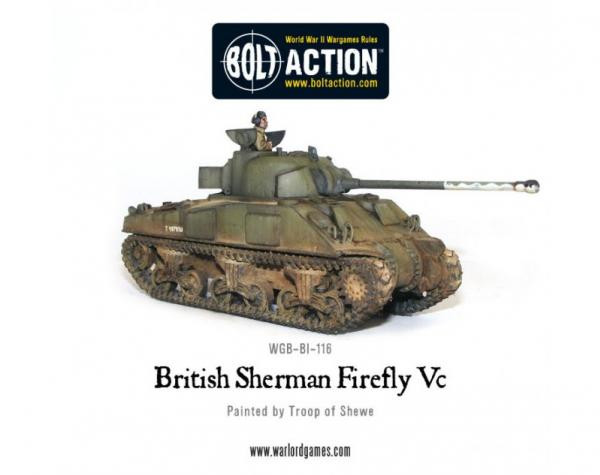 Bolt Action: British: Sherman Firefly