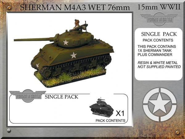 Forged in Battle: USA: Sherman M4A3 wet 76mm (1)
