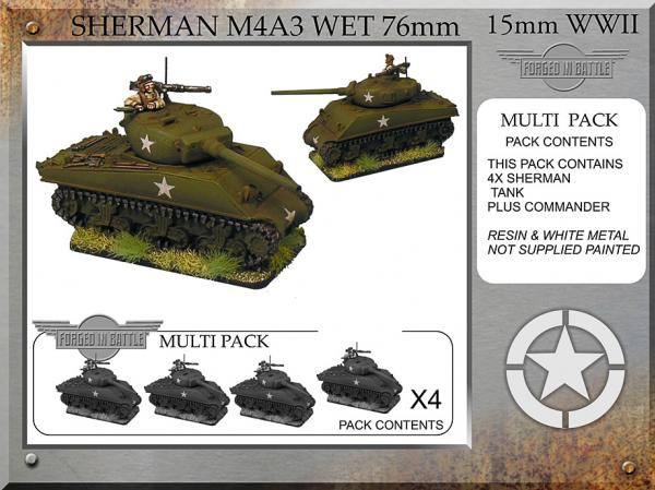 Forged in Battle: USA: Sherman M4A3 wet 76mm (4)